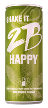 Bild von 2B HAPPY - YOUR NATURAL FRUIT DRINK  WITH PURE HEMP - 250ml
